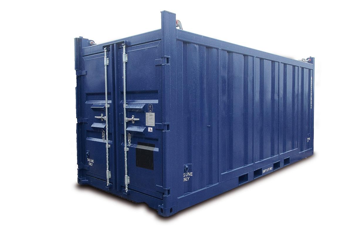 ``Container als Direktinvestment``