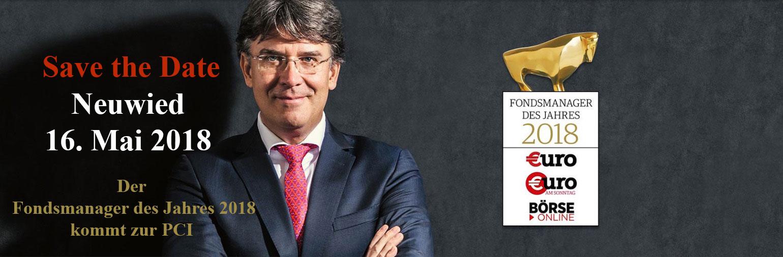 ``Fondsmanager des Jahres 2018 Frank Fischer``
