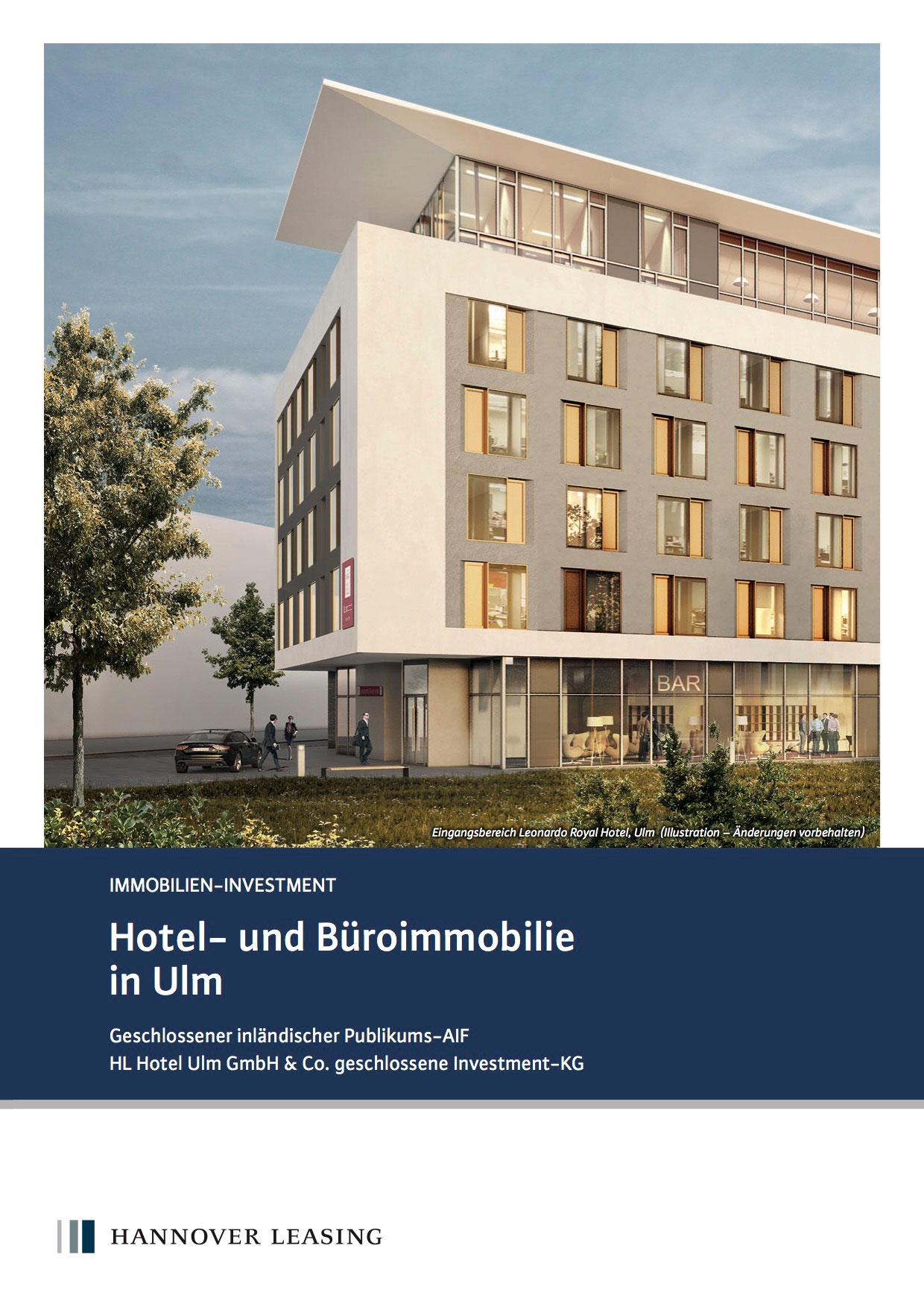 ``Hannover Leasing Hotel- und Büroimmobilie Ulm``