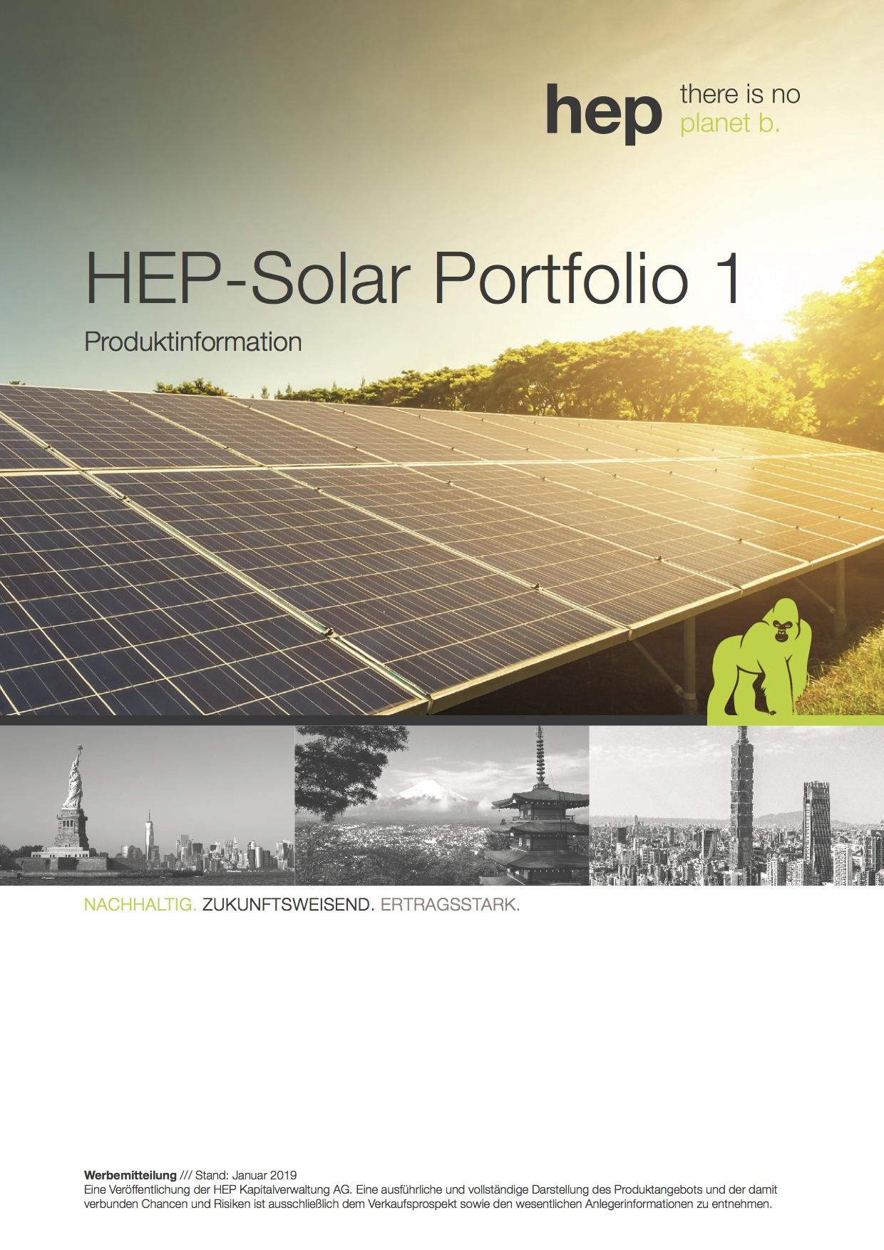 HEP Solar Portfolio 1