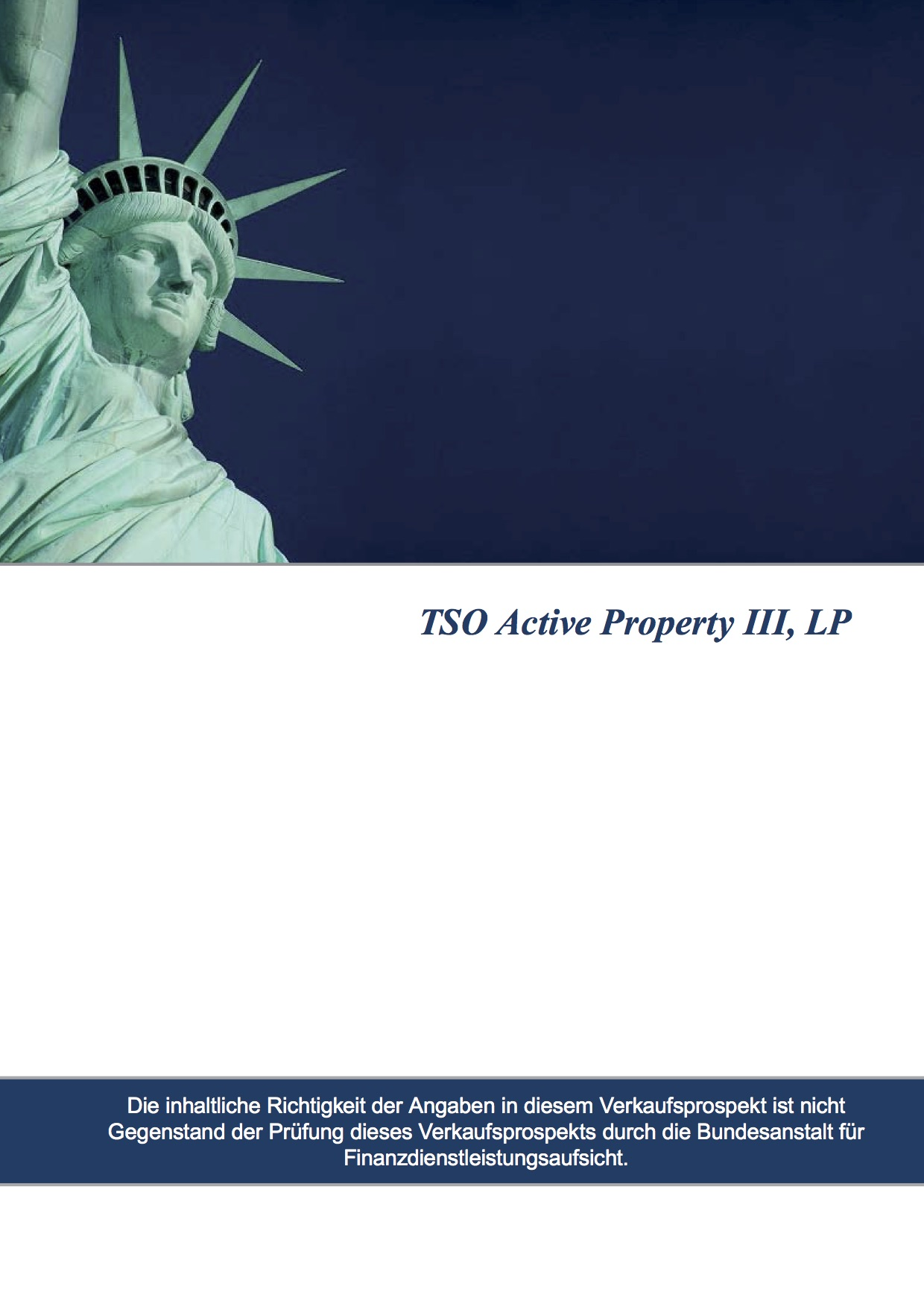 TSO Active Property III, LP